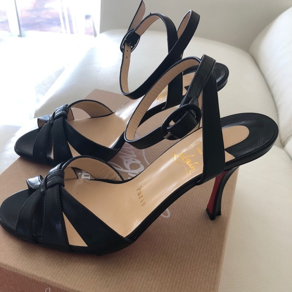 dc5ff81ba Christian Louboutin Shoes - CHRISTIAN LOUBOUTIN Trezuma 85 Leather Sandal